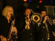 Horn section from Steve & The Thrillers