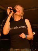 Sally Timms of the Mekons