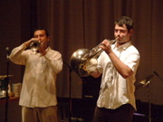 Kaveh Nabatian and Pietro Amato of Bell Orchestre