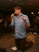 Eddie Argos of Art Brut