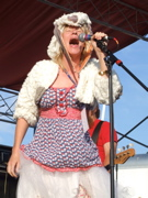 Sally Timms of Punk Band