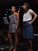 Natalie Bergman & Betty Barnes of Young Neils