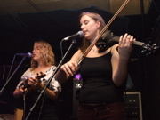 Laurel Morgan and Hannah Kendle of In the Pines