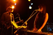 James Hanna and Yuki Chikudate of Asobi Seksu