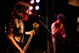 Paz Lenchantin of The Entrance Band