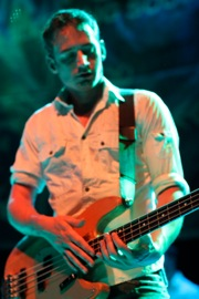 Tarrant Anderson of Frank Turner and the Sleeping Souls