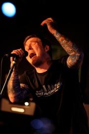 Brian Fallon of The Gaslight Anthem