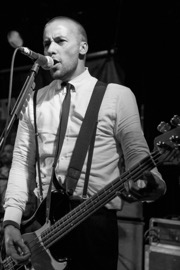 Justin Bivona of The Interrupters