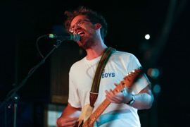 Andrew Savage of Parquet Courts
